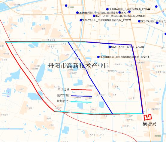 2018丹阳开发区规划图