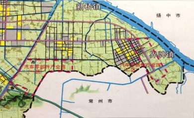 产业园核心区域规划面积为6.1平方公里,其中,一区(新桥)规划面积为3.图片